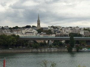 Fourth crossing, Boulogne to Saint-Cloud